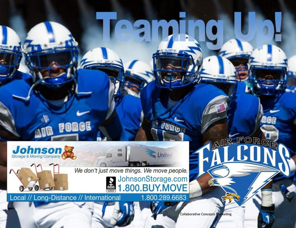 movers for the air force falcons colorado springs
